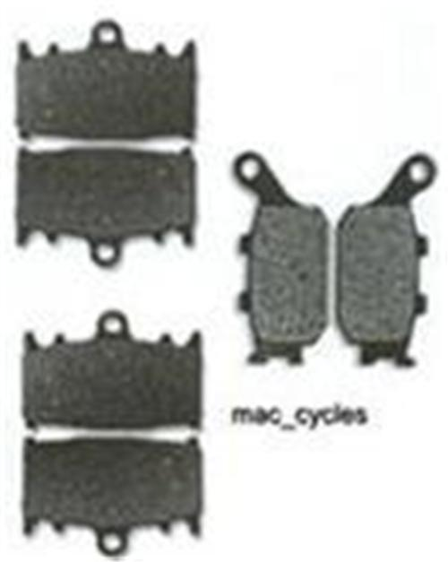 Suzuki Disc Brake Pads GSF650 2007-2010 Front & Rear (3 sets)