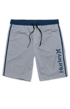 MENS GUYS HURLEY BASELINE MESH BASKETBALL ATHLETIC SHORTS  GRAY NEW $40 - $34.99