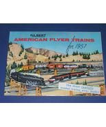 AMERICAN FLYER 1957 CONSUMER CATALOG - $18.15
