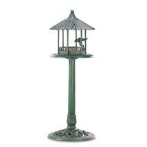 Verdigris Gazebo Standing Birdfeeder - $36.00