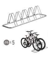 Bicycle Stand Garage Organization Storage 5 Bike Floor Scooter Children ... - $72.79