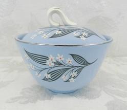 HOMER LAUGHLIN Skytone Stardust - Sugar Bowl with Lid - Vintage 1950s - $11.87
