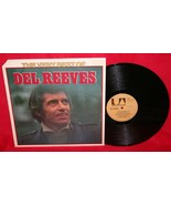 The Very Best Of DEL REEVES LP Vinyl RECORD Autographed Signed TRUCKER C... - $19.79