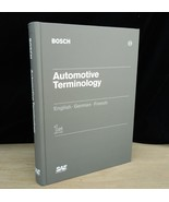 Bosch Automotive Terminology English French German First Edition ISBN 07... - $74.79