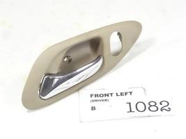 2001 2002 Honda Accord 2 Dr Driver Door Inner Opener Handle Ivory Brown Oem B1082 - $26.32