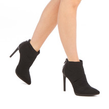 NEW Jessica Simpson Elastic Snakeskin Bootie Heel with back zip closure - $140.00