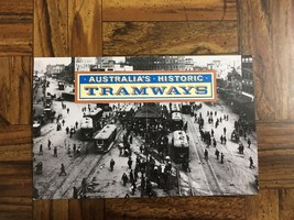 1989 Australia's Historic Tramways - Post Office Pack - Unused Stamps So... - $3.37