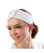 "Terry Spa Headband, Double Velcro Strips, 3"" wi... - $4.98"