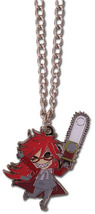 Black Butler Chibi Grell Metal Necklace GE35621 *NEW* - $13.99