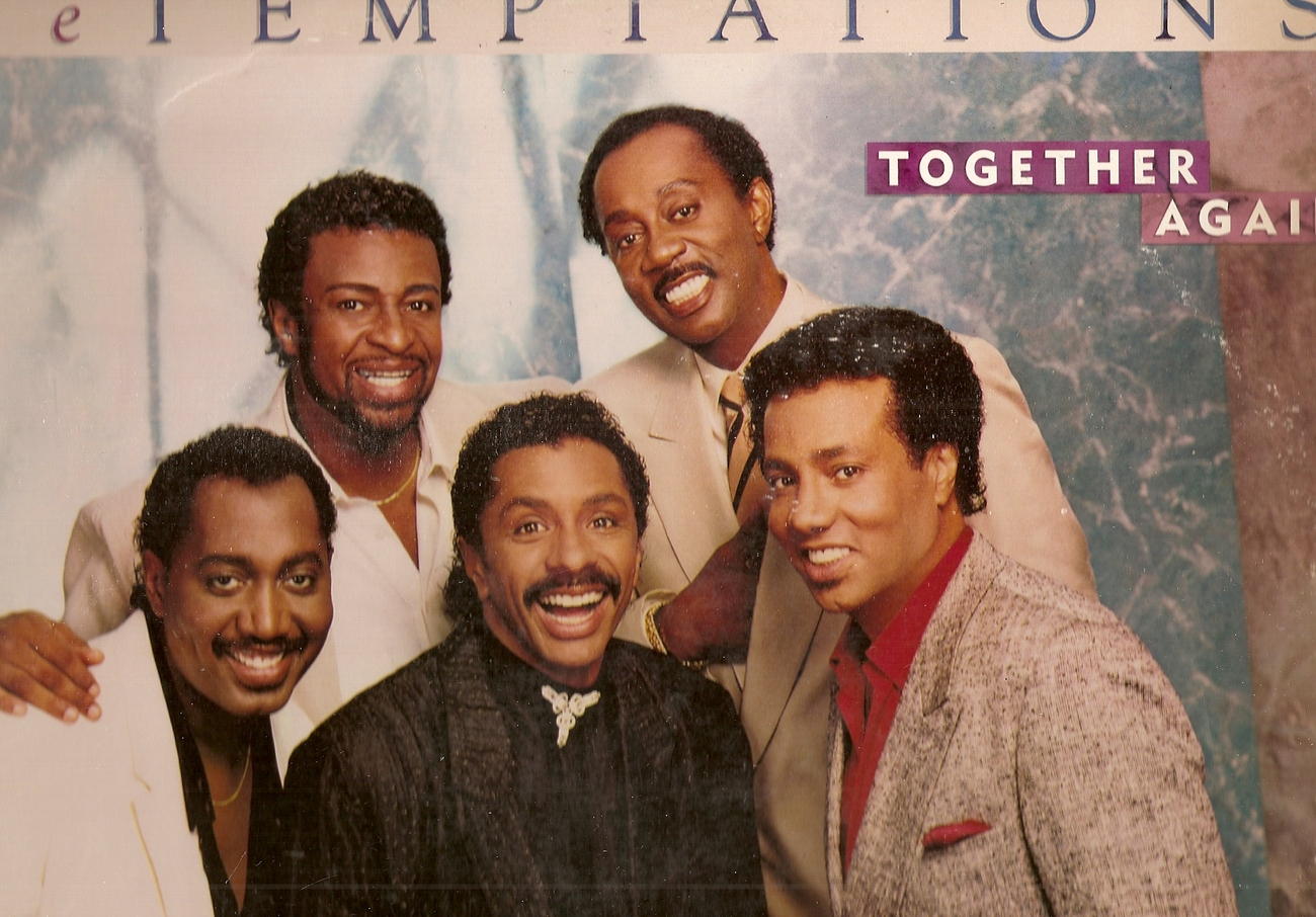 LP--Temptations 	-	 Together Again