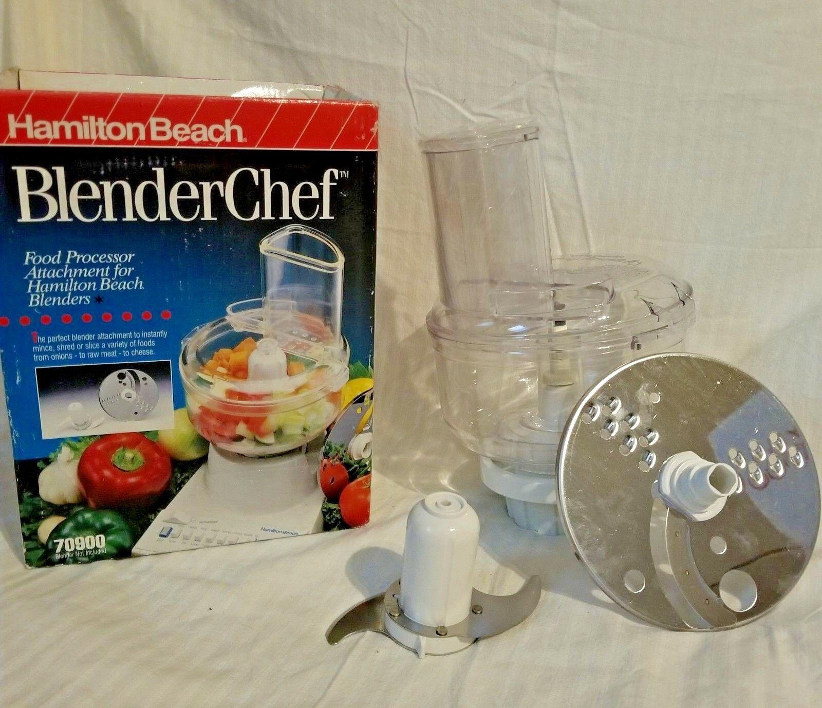 Hamilton Beach  blender Chef Food Processor Chopper Mixer Attachment 70900 image 2