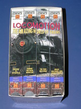 THE HISTORY CHANNEL LOCOMOTION THE AMAZING WORLD OF TRAINS 4 VIDEO SET - $13.69