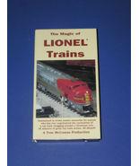THE MAGIC OF LIONEL TRAINS - $4.99