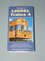 THE MAGIC OF LIONEL TRAINS 4 - $4.89