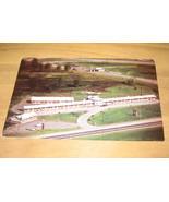 Pike Plaza Motel & Riccardis Restaurant Ohio Postcard - $9.99