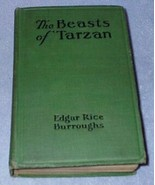 The Beasts of Tarzan Edgar Rice Burroughs 1916 1st. Edition  - $65.00