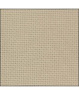 Sand 20ct Aida 36x22 cross stitch fabric Zweigart - $17.10