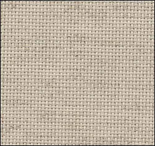 Oatmeal Rustico 20ct Aida 36x22 cross stitch fabric Zweigart
