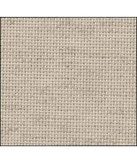Oatmeal Rustico 20ct Aida 18x22 cross stitch fabric Zweigart - $8.55