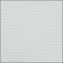Ice Blue 20ct Aida 36x43 cross stitch fabric Zweigart - $34.20