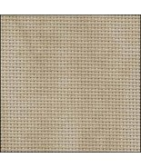 Country Mocha 20ct Aida 36x22 cross stitch fabric Zweigart - $17.10