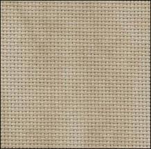 Country Mocha 20ct  Aida 11x18 cross stitch fabric Zweigart - $5.40