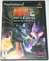 Playstation 2 - MDK 2 ARMAGEDDON (Complete with Instructions) - $15.00