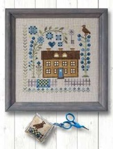 May Flower cross stitch chart Pheasant Street Samplers  - $8.00