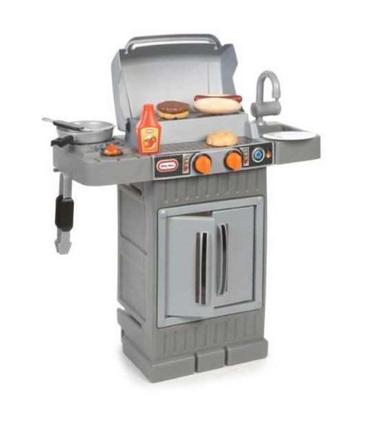 Barbeque Little Tikes Cook 'n Grow BBQ Grill Indoor ...