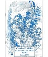Charles Miller Out Of Print Books Catalog Fall 1998 John Carter of Mars ... - $4.95