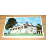 Vintage Mount Vernon Virginia George Washingtons Home Postca - $9.99