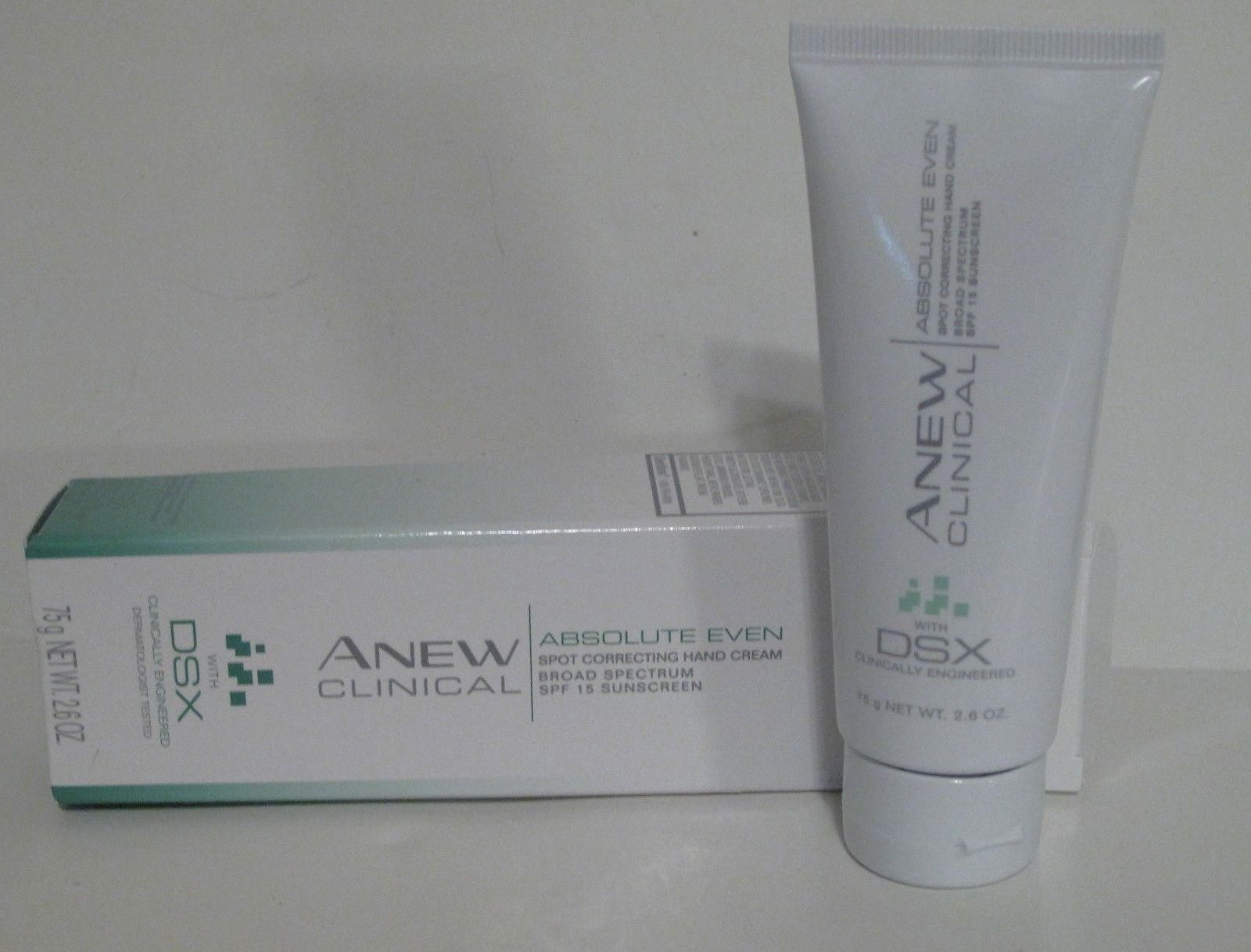 Absolute Even Spot Correcting Hand Cream from Avon Anew Clinical 2.6 oz