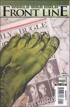 Marvel WORLD WAR HULK: FRONT LINE #1 VF- - $0.79