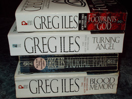 Greg Iles lot of 4 suspense paperbacks - $5.99