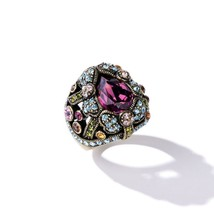 Heidi Daus Damoiselle Dragonfly Crystal Dome Ring size 6 or 8 - $64.95