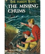 HARDY BOYS The Missing Chums by Franklin W. Dixon (c) 1923 G&D HC w/DJ - $12.86