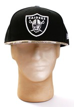 New Era 59Fifty NFL Oakland Raiders Salute To Service Fitted Hat Cap Adult NWT - $37.49