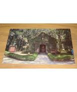 Vintage Mission Of Nobre De Dios St. Augustine Florida Postc - $9.99