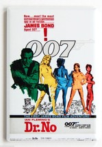 Dr. No FRIDGE MAGNET movie poster james bond se... - $4.95