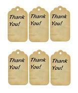 6 Thank You Tags32-Download-ClipArt-ArtClip-Digital Tags-Digital - $4.00