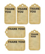 6 Thank You Tags35-Download-ClipArt-ArtClip-Digital Tags-Digital - $2.00