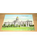 Vintage State Capitol Building Cheyenne Wyoming Postcard - $9.99