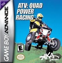 ATV: Quad Power Racing (Nintendo Game Boy Advance, 2002) - $3.39
