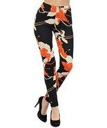 Women's Printed Leggings (Cosmic Floral) [Apparel] - $16.82