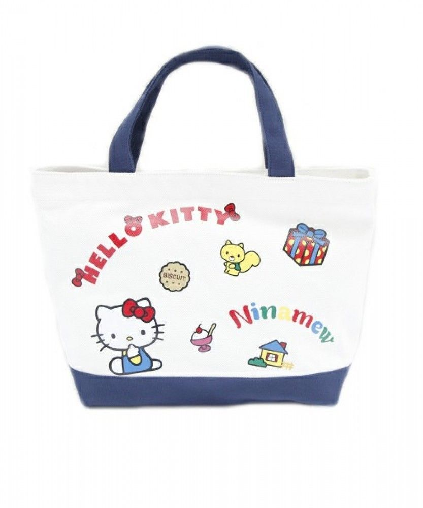 a0fef02f85af Sanrio Hello Kitty Canvas Tote and 20 similar items  san francisco e618f  0cdf1 Hello Kitty 2 Way Handbag Shoulder ...