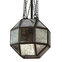 Parisian Restoration Geometric Octagonal Industrial Hardware Pendant Cha... - $355.23+