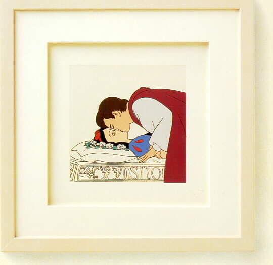 Snow White and Prince Charming Disney Framed Art