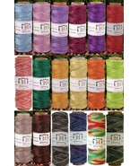 HEMP CORD 10lb 10# test 205 ft + 394 ft Spools Twine ~ LIMITED COLORS ~ ... - $7.00+