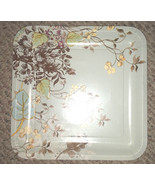 Packs of 8 square Meadow Sweet paper plates, dinner and dessert/salad, 2... - $2.49+