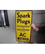 Vintage Sign AC Spark Plugs 1946 Original - $1,373.20
